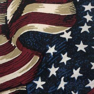 Museum Artifacts   American US Silk Tie NWT
